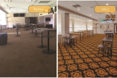 Ascot Bar  before and after