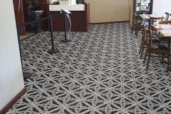 Artistic Flooring | Custom Carpet Design | Boulevard Dining Custom